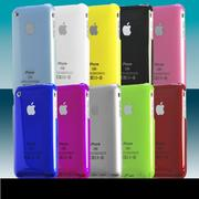 Чехол цветной в ассортиментедля iPhone 3G/ 3GS