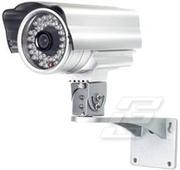 Камера с ночной подсветкой для охраны автостоянки