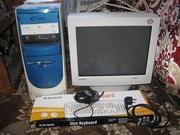 Продам компьютер и монитор,  1200 грн с торгом