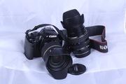 Продам Canon EOS 450D   2 объектива   2 флешки   сумка