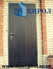 Входные двери с МДФ накладкой