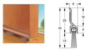 Уплотнители для дверей для шумоизоляции и от сквозняков