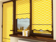 Устанавливаем рулонные шторы. Широкий выбор