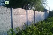 Еврозаборы,  ворота из профнастила в Запорожье