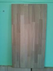 Мебельный щит из древесины дуба.