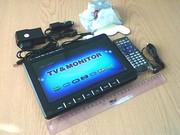 """Мини телевизор DA-901CK 9.8"""" БАТАРЕЯ! USB/SD/FM"""