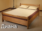 Кровати из массива.