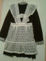 Школьное платье СССР