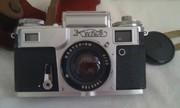 Продам фотоаппарат «Киев-4» со встроенным экспонометром.