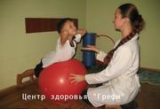 ЛФК,  лечебная гимнастика для детей в Запорожье.