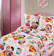 Купить детскую постель,  Комплект Очаровашки Love is
