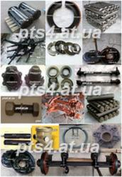 Запчасти на Прицепы тракторные 1ПТС-2,  2ПТС-4,  кормораздатчики КТУ-10.