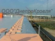 Реконструкция мягкой кровли ПВХ мембраной в Запорожье
