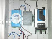 MOXA NPort 6250 (двухпортовый асинхронный сервер безопасности)