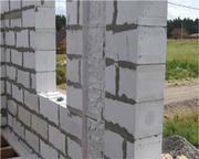 Газоблок (блок газобетонный,  газобетон) Новая Каховка,  цемент,  песок