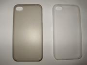 GlobalCase Брендовый прозрачный матовый ультратонкий чехол iPhone 4 4S