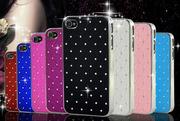 fashion чехол iphone 4 4s с кристалами,  камнями,  стразами Swarovski