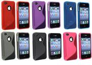 S-Line TPU качественный силиконовый чехол для iPhone 4s,  iPhone 4