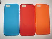 Стильный силиконовый цветной TPU чехол iPhone 5 5S