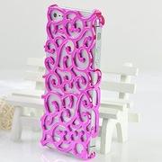 Стильный чехол из пластика с узором орнаментом для iPhone 4 4s
