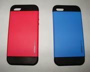 Стильный яркий Чехол iPhone 5 5S SLIM ARMOR SPIGEN SGP TPU
