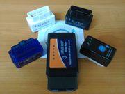 OBD II автосканер ELM327 Bluetooth или WiFi V1.5 или V2.1 - в т.ч. с кнопкой