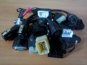 Разъемы от и для автосканеров Scan-100 и MET-5000 - оригинал