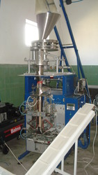 Автомат для фасовки сыпучих продуктов.