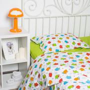 Комплекты постельного белья в кроватку для новорожденных,  Овечки цветн