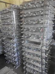 Чушка алюминий АВ87, АК9, АК12