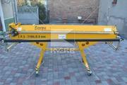 Ручной гибочный станок Sorex ZGR-2160 L из Польши
