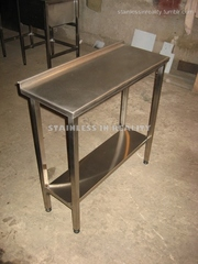 Стол производственный с полкой СПП 850х350х850