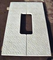 Противоусадочные плиты из полимербетона