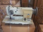 Двухигольная швейная машина челночного стежка MIK 20606-2