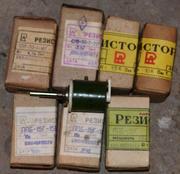 Продам  резисторы: ППБ,  СП5-30,  ПЭВР,  ППЗ