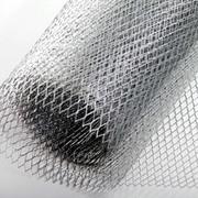 Сетка штукатурная, просечно-вытяжная( черный,  оцинковка)