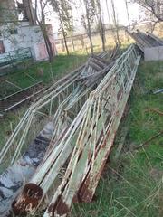 Продам прогон прутковый б/у для обустройства крыши или навеса.