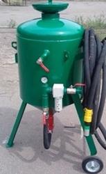 Пескоструйный аппарат АА 100 Абразивоструйный агрегат АА150/200/250 л.