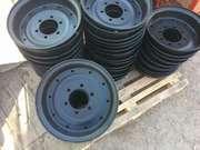 Диски колесные на сель-хоз технику 2ПТС-4,  КТУ-10 на 6-8 шпилек