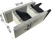 Бетонный Блок Несъемной Опалубки 500х200х400 мм