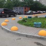 Полусфера антипарковочная,  бетонная от компании Unikfem