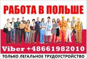 Срочно! Бесплатные,  легальные вакансии Белостоке,  Польша.