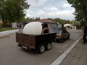 Бизнес на колесах/печь для пиццы на прицепе