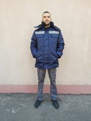 Куртка зимняя Оксфорд - продажа ветро-водонепроницаемая  от производит