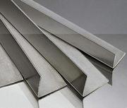 Уголок алюминиевый равносторонний ,  разносторонний,  анодированный (АД3