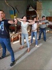 Стрельба из лука,  Лучный тир,  Зверобой,  обучение стрельбе из лука