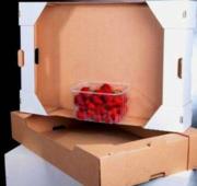 Ящик под персик однорядка- друхрядка