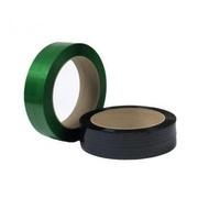 предлагаем упаковочную ленту ПЭТ (полиэстеровую)